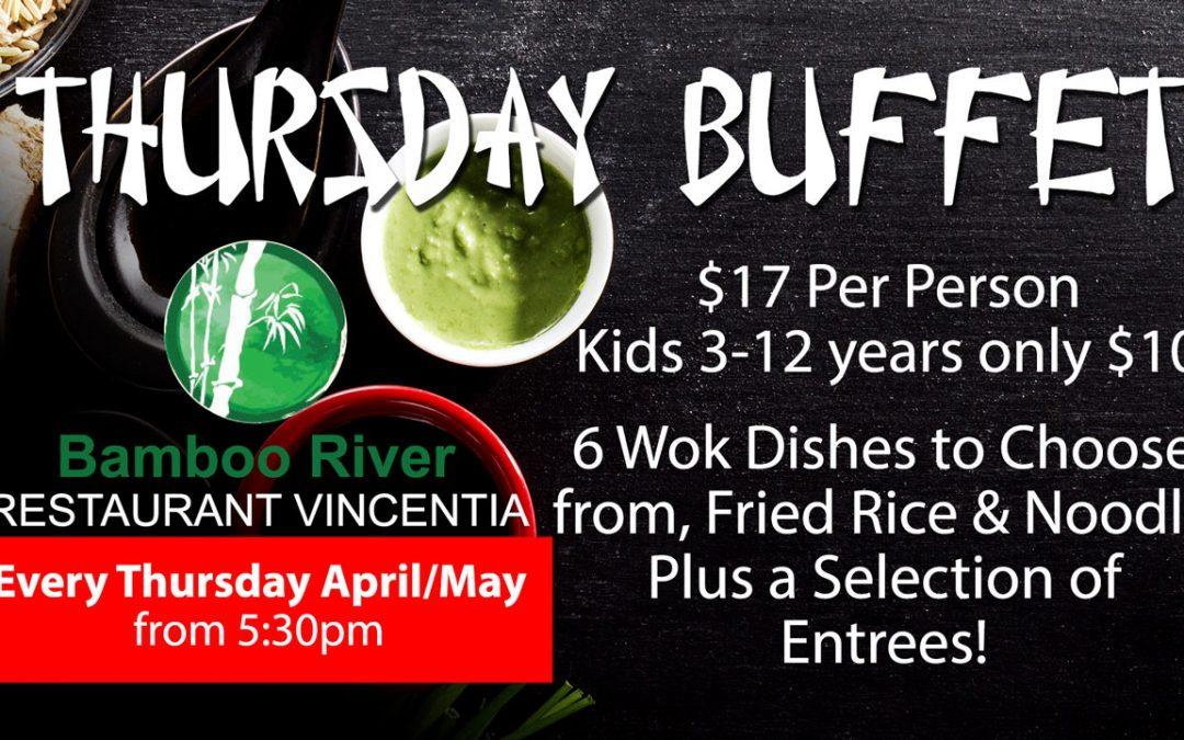 Thursday Night Buffet – Vincentia