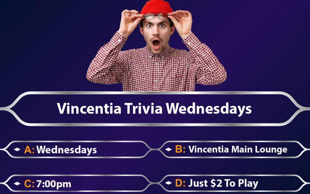 Wednesday Trivia Vincentia